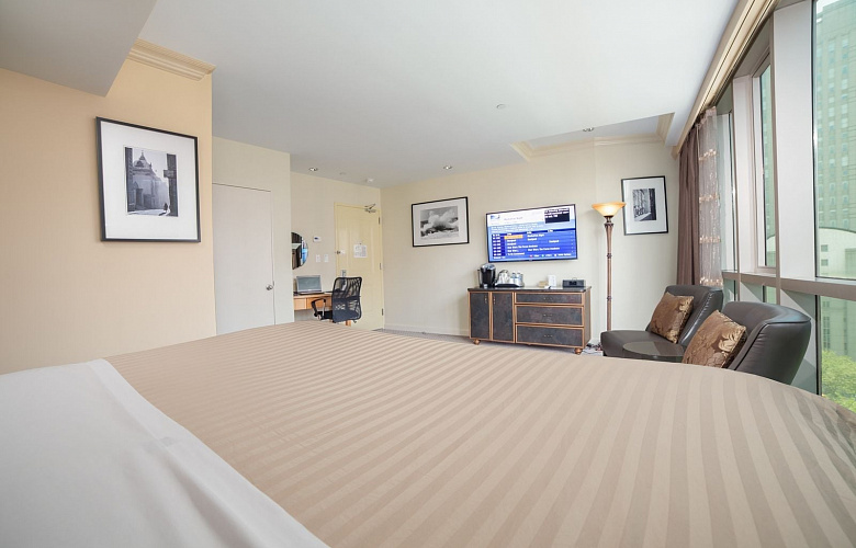 deluxe king suite park view hotel mulberry chinatown. Black Bedroom Furniture Sets. Home Design Ideas